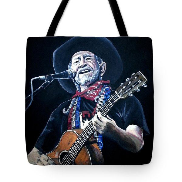 Willie Nelson 2 Tote Bag