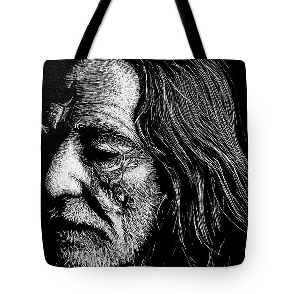 Tote Bag featuring the photograph Willie by Paul Foutz