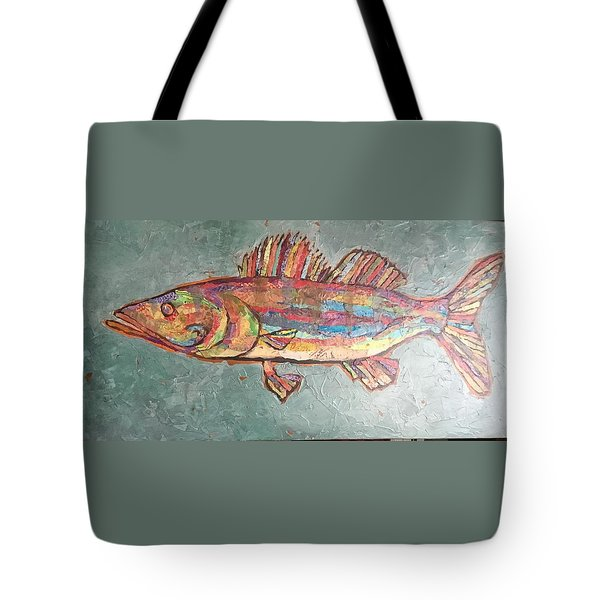 Willie The Walleye Tote Bag