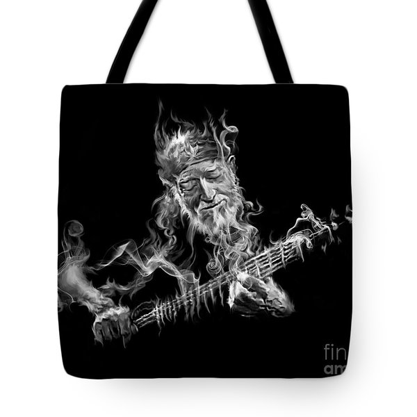 Willie - Up In Smoke Tote Bag
