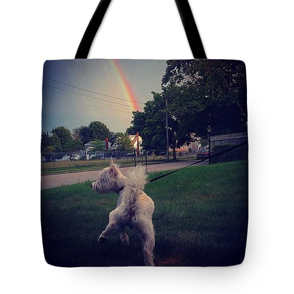 Gold At The End Of The Rainbow Tote Bag
