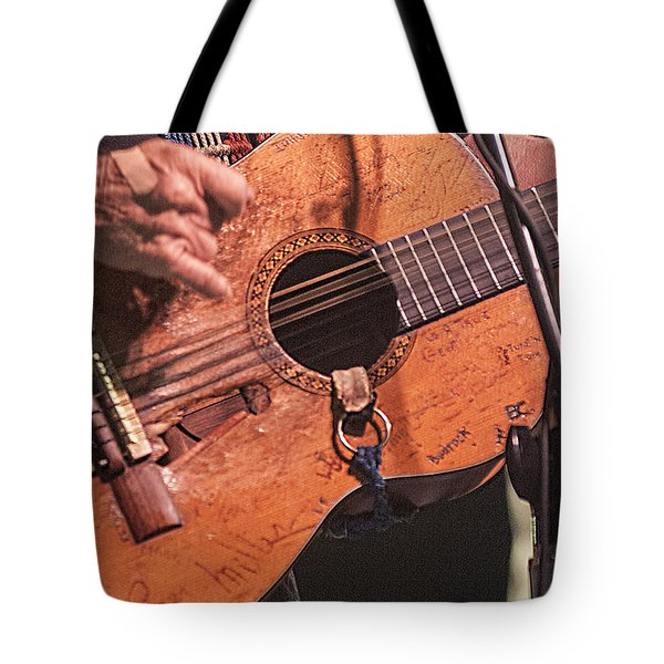 Willie's Guitar Tote Bag