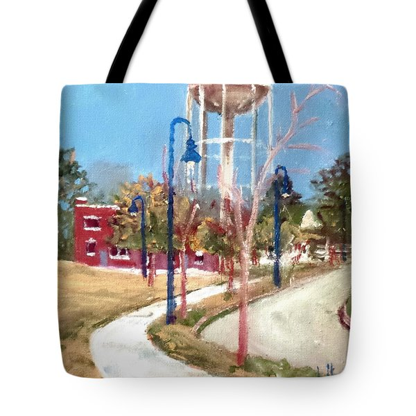 Willingham Park Tote Bag by Jim Phillips