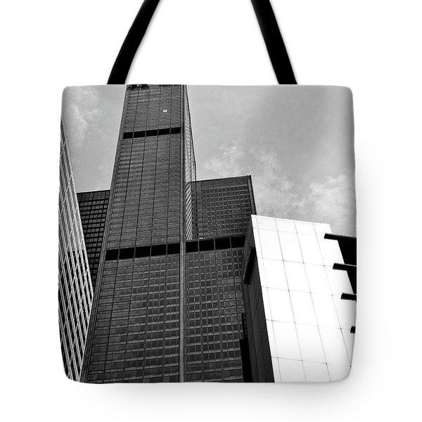 Willis Tower Wedge Tote Bag
