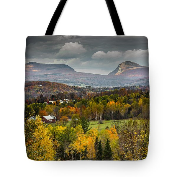 Willoughby Gap Late Fall Tote Bag by Tim Kirchoff