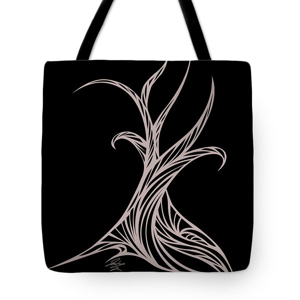 Willow Curve Tote Bag