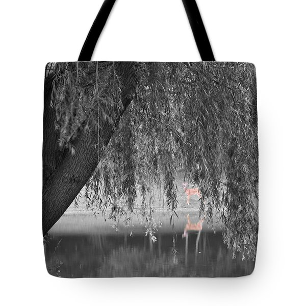Willow Deer II Tote Bag