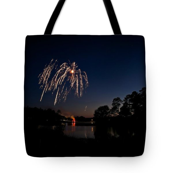 Willow Firework Tote Bag