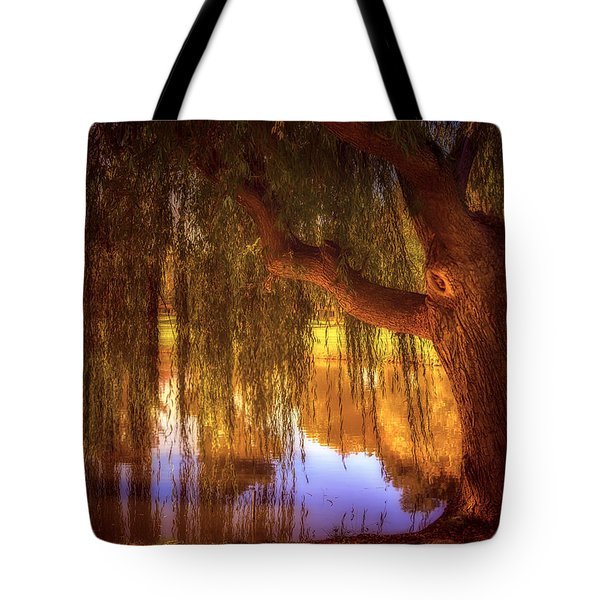 Willow Glow Tote Bag