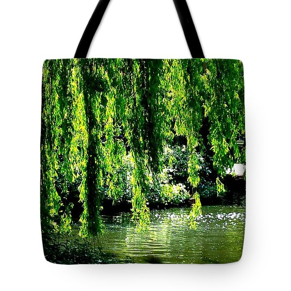 Willow Green Tote Bag