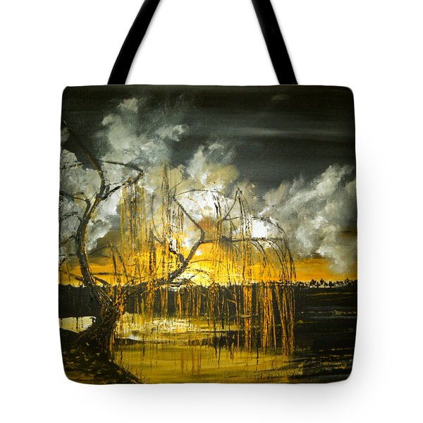 Willow On The Shore Tote Bag