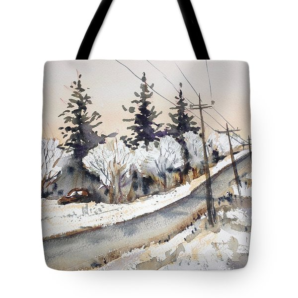 Willow Springs Road Tote Bag