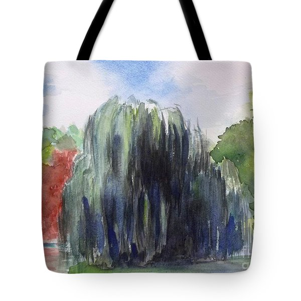 Willow Tree -2  Hidden Lake Gardens -tipton Michigan Tote Bag