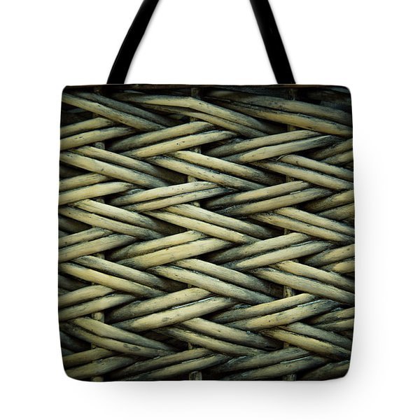 Tote Bag featuring the photograph Willow Weave by Les Cunliffe