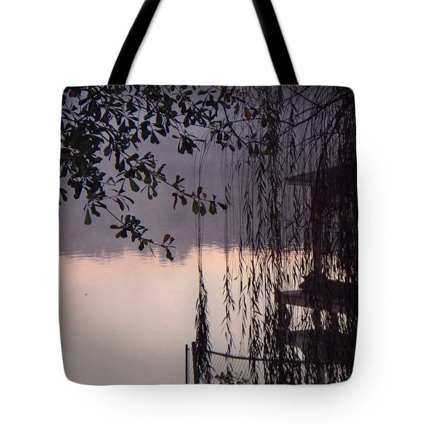 Tote Bag featuring the photograph Willow's Dawn by Betty Northcutt