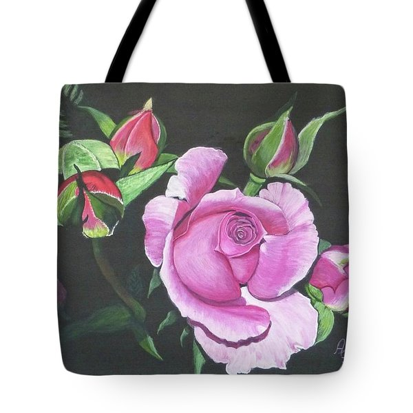 Will's Rose Tote Bag
