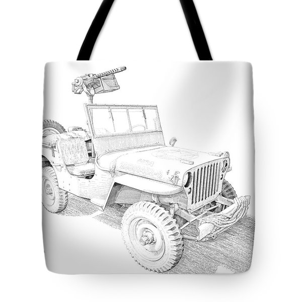 Willy In Ink Tote Bag