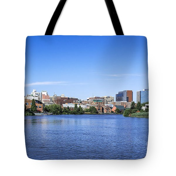 Wilmington Skyline Tote Bag by John Greim