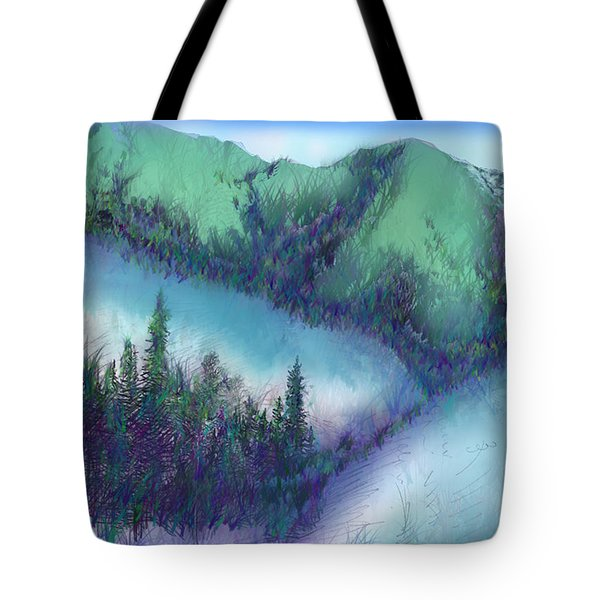 Wilmore Wilderness Area Tote Bag by Shirley Heyn