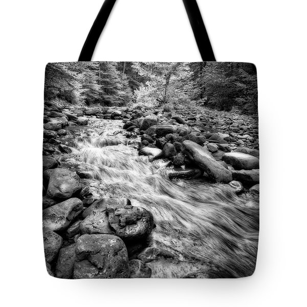 Tote Bag featuring the photograph Wilson Creek 2 by Alan Raasch