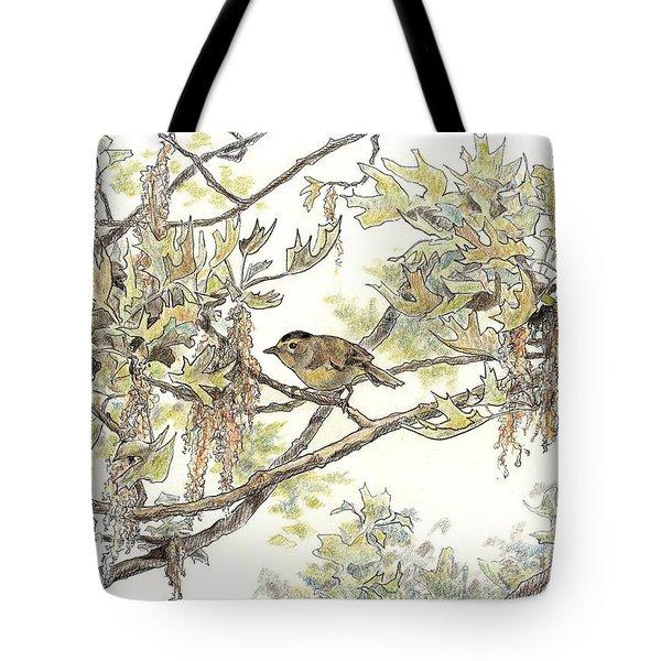 Wilson's Warbler Tote Bag