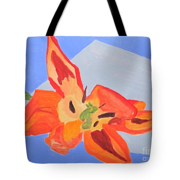 Wilted Tulip Tote Bag