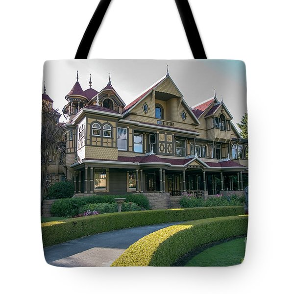 winchester mystery house San Jose California USA 7 Tote Bag