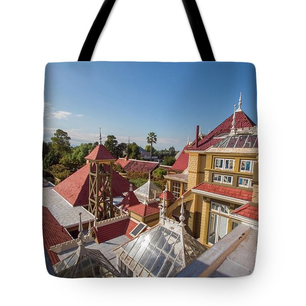 winchester mystery house San Jose California USA Tote Bag
