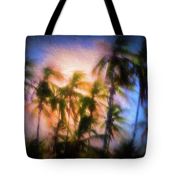 Wind And Palms Tote Bag