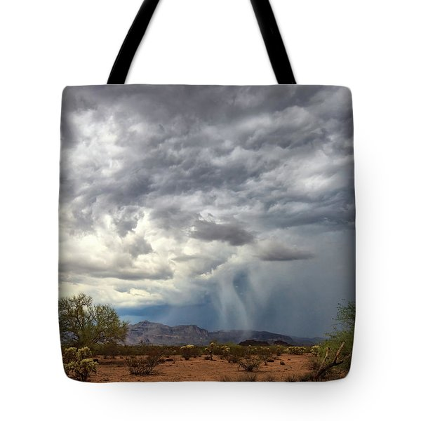 Tote Bag featuring the photograph Wind And Rain by Rick Furmanek