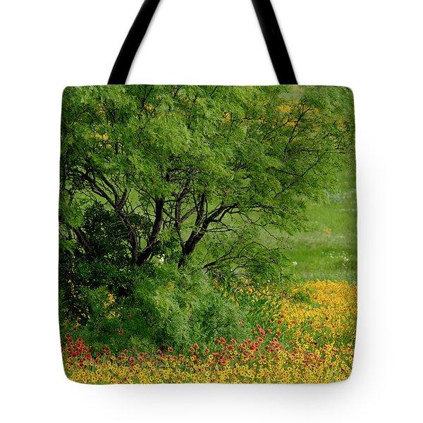 Wind Blown Palette Tote Bag