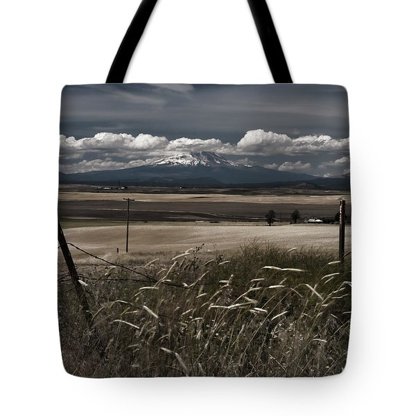Wind Blown Plains Tote Bag