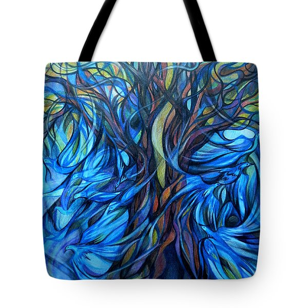 Wind From The Past Tote Bag