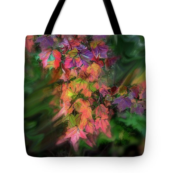 Wind In The Maple Tote Bag