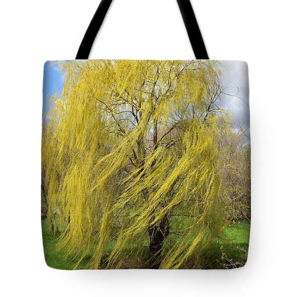 Wind In The Willow Tote Bag