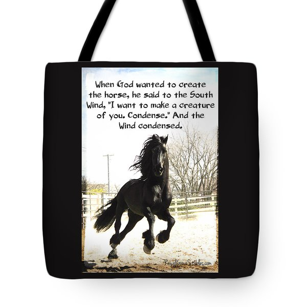 Wind In Your Mist Tote Bag