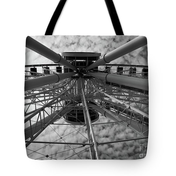 Wind Jammer Tote Bag by Trish Hale