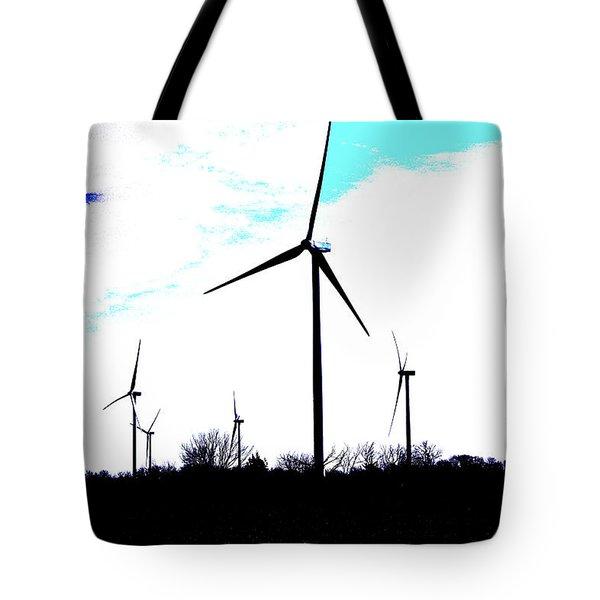 Wind Mills Tote Bag
