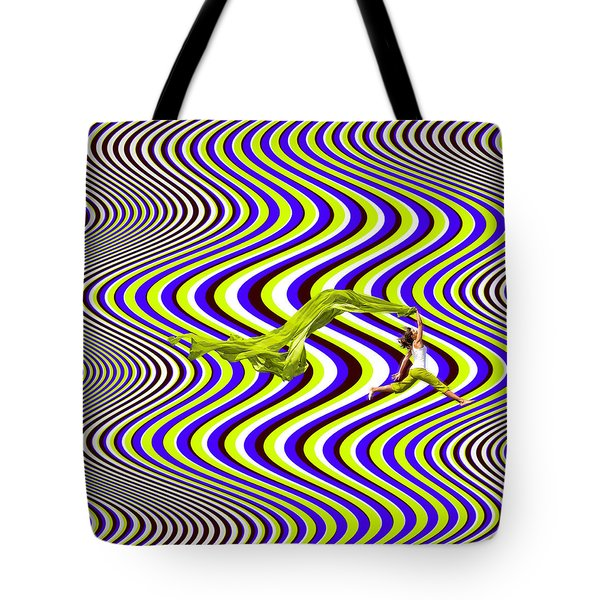 Wind Of Freedom Tote Bag