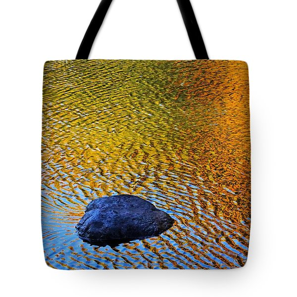 Wind On Water Tote Bag by Aimelle