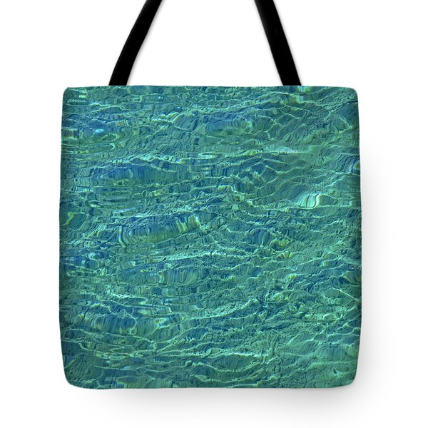 Wind Over Water Tote Bag