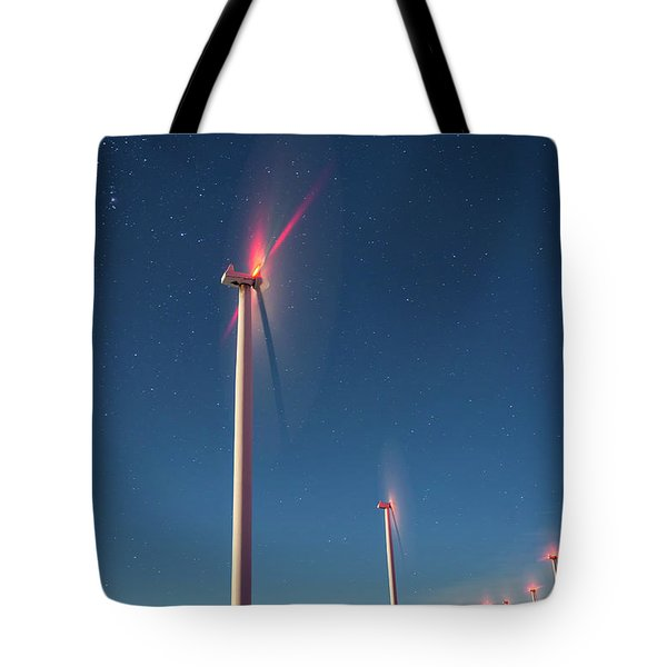Tote Bag featuring the photograph Wind Power by Cat Connor