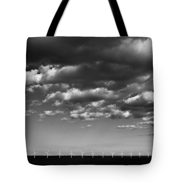 Wind Power Tote Bag by Terence Davis