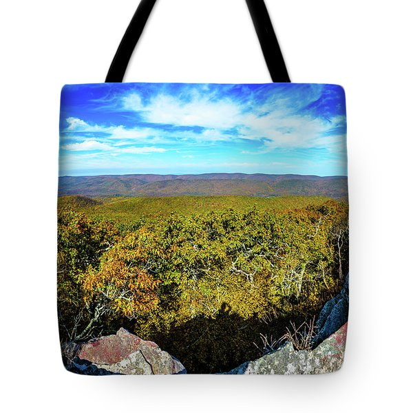 Wind Rock Panorama Tote Bag