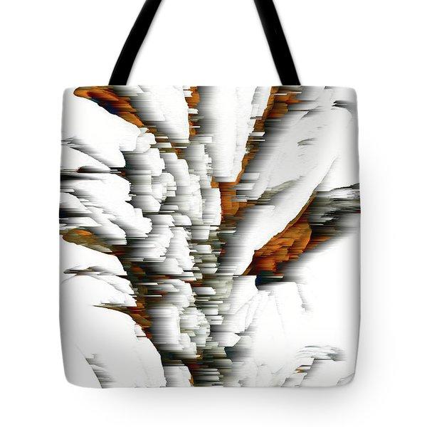 Tote Bag featuring the painting Wind Series 05.072311windblastscvss by Kris Haas