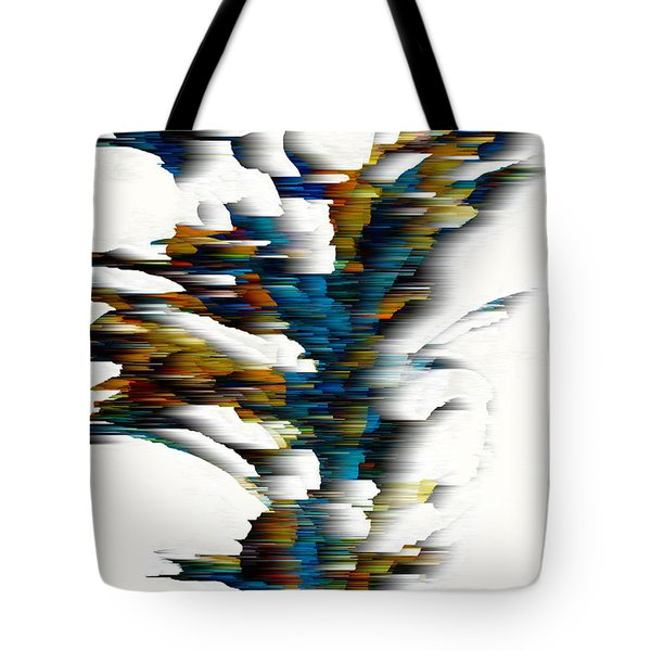Tote Bag featuring the painting Wind Series 08.072311wscvss by Kris Haas