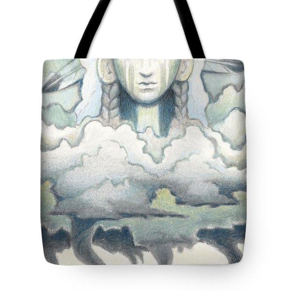 Wind Spirit Dances Tote Bag by Amy S Turner
