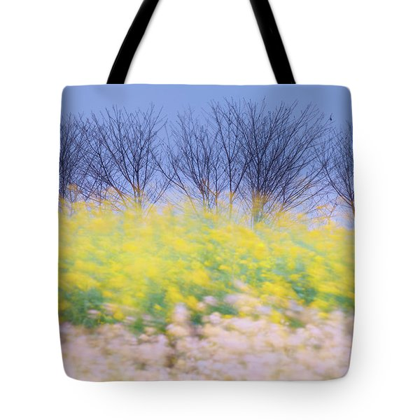 Wind Strokes Tote Bag