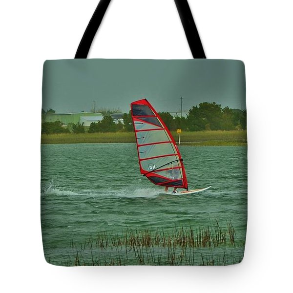 Wind Surfing 2 Tote Bag