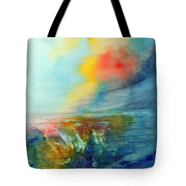 Wind Swept Tote Bag